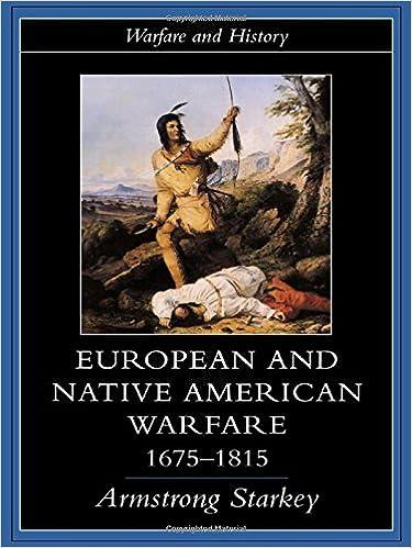 European and Native American Warfare 1675-1815 (Warfare and History)