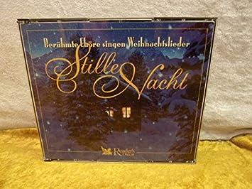 Chöre Singen Weihnachtslieder.Stille Nacht Berühmte Chöre Singen Weihnachtslieder Inkl 5 Cds