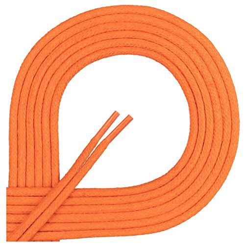 Premuim 200 Reißfest Mm Lederschuhe 2 Längen Business 45 Orange Rundsenkel 4 Und Ø Ficchiano Di Anzug Für Gewachst schnürsenkel Cm 4zggq5