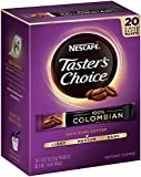 Nescafe Taster's Choice Instant Coffee Columbian, 20-Count Sticks (1 Pack)