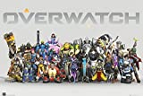 Overwatch - Gaming Poster / Print (Character Collage / Anniversary Line Up) (Size: 36'' x 24'') (By POSTER STOP ONLINE)