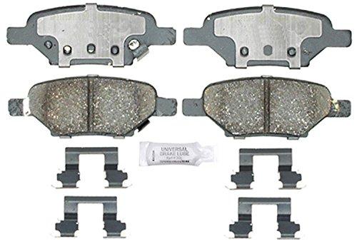 ACDelco 17D1033CH Professional Ceramic Rear Disc Brake Pad Set Chevrolet Malibu Brake Disc