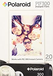 Polaroid Pif300 Instant Film Replacement- Designed For Use With Fujifilm Instax Mini & Pic 300 Cameras (20 Pack)
