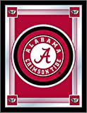 Holland Bar Stool Company NCAA Alabama Crimson Tide Logo Mirror, 17 X 22-Inch