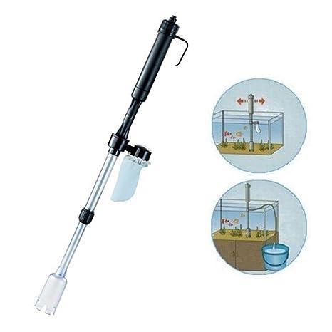 STRIR Gravel Cleaner Acuario Batería Sifón Operado Tanque de Pescado Filtro de Agua de vacío Limpiador