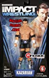 KAZARIAN - TNA DELUXE IMPACT 6 TOY WRESTLING ACTION FIGURE