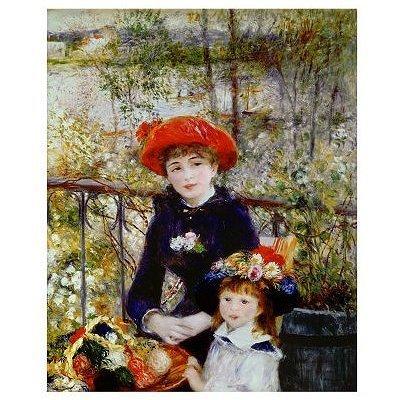 1000 Ravensburger Puzzle, Renoir: On the Terrace (The Terrace Renoir On)