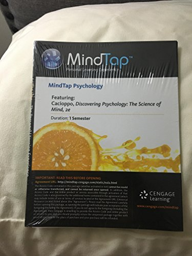 Discovering Psychology Mindtap Access