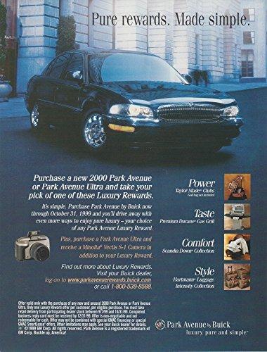 2000 BUICK PARK AVENUE/PARK AVENUE ULTRA