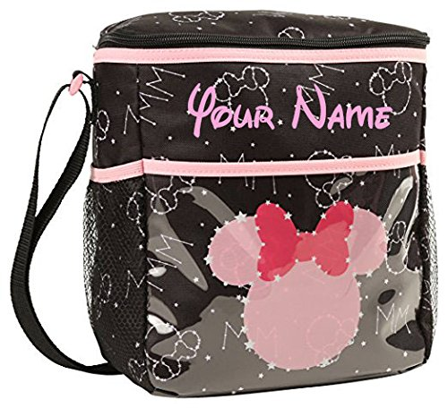Disney Personalized Minnie Mouse Constellation Universe Star Print Small Baby Duffel Diaper Bag ()
