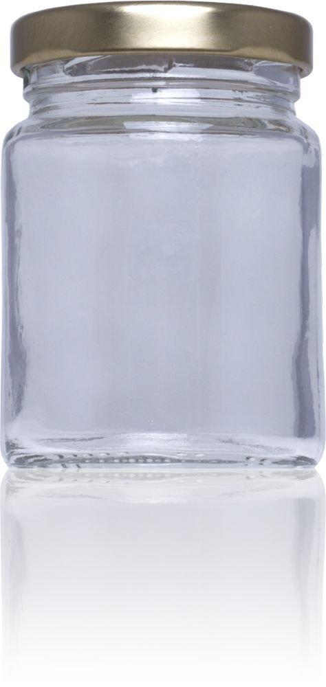 Tarro de cristal conservas Stda 106 ml alto - Medio pack 72 u. Tapas Rioja