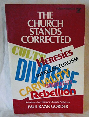 The Church Stands Corrected (An Input book)