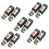 iSmart 5 Pair (10 Pcs) Mini CCTV BNC Video Balun Transceiver Cable IB1015*5