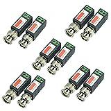 iSmart 5 Pair (10 Pcs) Mini CCTV BNC Passive Video Balun Transceiver for HD-TVI CVI AHD Analog 960H Camera IB1015