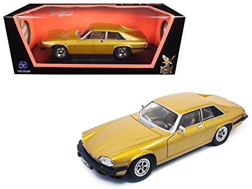 Maisto 1975 Jaguar XJS Coupe Gold 1/18 Model Car by Road - Models Xjs
