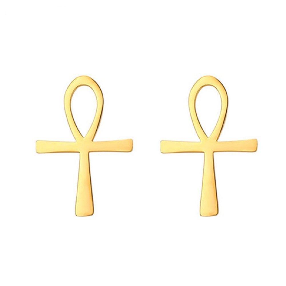 VirtualStoreUSA.com Ankh Egyptian Cross Key of the Nile Earrings