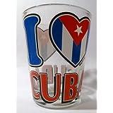 "Cuba \""I Love Cuba\"" Shot Glass"