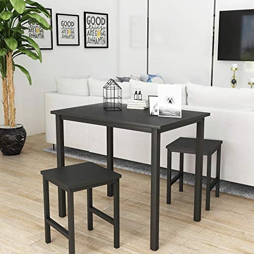 LinkRomat 3 Pieces Dining Set Table