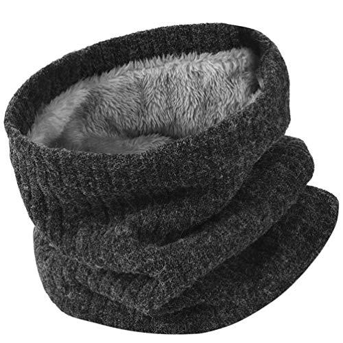 51o4vQmL%2BuL. SS500 Thickkened Knitting- el rendimiento ultra suave, cómodo y exquisito te sorprenderá. Y no producirá pilling ni se soltará después de su uso. Keep You Warm- El fino forro de felpa es útil para mantener el calor en el cuello, la cara, las orejas y la cabeza en días fríos. fibras acrílicas y felpa