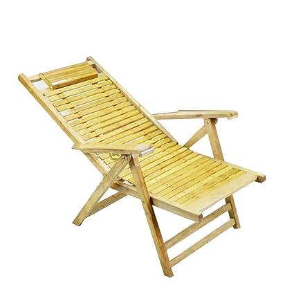 Admirable Amazon Com Lounge Chair Ynn Sun Bamboo Folding Chair Beach Inzonedesignstudio Interior Chair Design Inzonedesignstudiocom
