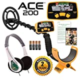 Jestik Garrett ACE 200 Metal Detector with Waterproof Search Coil and Treasure Sound Headphone