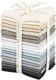 Jennifer Sampou Black and White Coordinates 20 Fat Quarters Robert Kaufman Fabrics FQ-1205-20