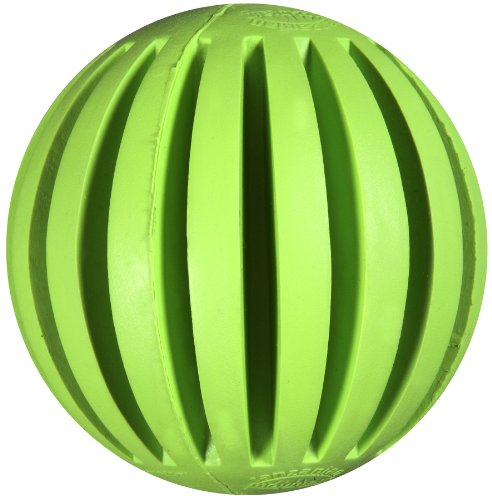JW Pet Company Tanzanian Mountain Ball Dog Toy, Regular (Colors Vary), My Pet Supplies