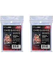 Ultra Pro Standaard Regular Soft 200 stuks Penny kaartfolie kaarthoezen Sleeves - voor verzamelkaarten zoals Pokemon Magic Sportkaarten - standaardformaat, transparant