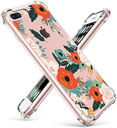 GVIEWIN Ultra Thin Shockproof Transparent Flowering