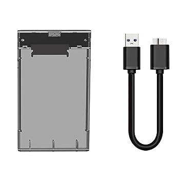 ULT-BEST USB 3.0 y sin Herramientas, Caja de Disco Duro Externo DE ...