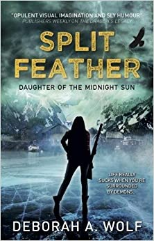 Book Split Feather - Daughter of the Midnight Sun Book 1