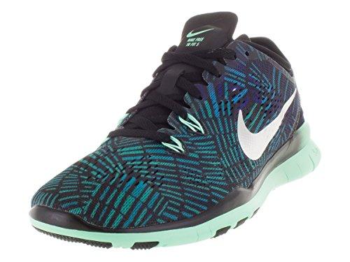 grn grn grn 5 Prt Femme Femme Femme Femme blck Glw Negro Sneakers Fit rcr Bl Noir Nike Wmns 5 Tr Nke 0 Free Mtllc Slvr F8gfpq