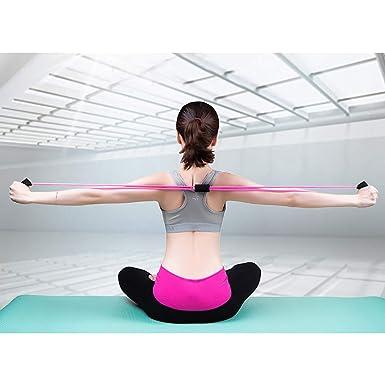 HighlifeS - Correa elástica para yoga, gimnasio, cuerda de ...