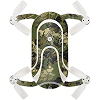 Skin For ZEROTECH Dobby Pocket Drone – Viper Woodland | MightySkins Protective, Durable, and Unique Vinyl Decal wrap cover | Easy To Apply, Remove, and Change Styles | Made in the USA