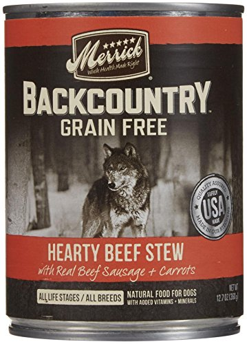 Merrick Backcountry - Hearty Beef Stew - 12.7 oz - 12 ct by Merrick