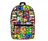 Mozlly Multipack - Bioworld Super Mario Bros Villains Sublimated Backpack