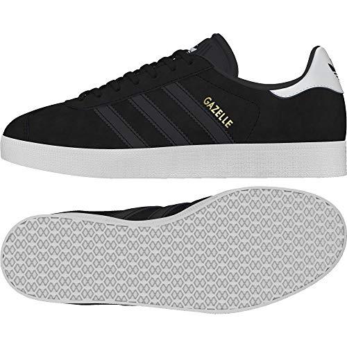 3 De 000 tinazu W Eu Gazelle Zapatillas 2 Adidas Negro negbas Mujer Deporte Para 36 negbas WS6atnH1