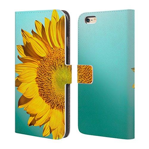 Officiel Mark Ashkenazi Tournesols Fleurs Étui Coque De Livre En Cuir Pour Apple iPhone 6 Plus / 6s Plus
