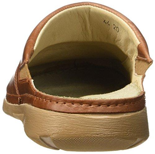 scarpe muli Man Quality pelle Peter Brown Batz in Zoccoli Superior wqU4W7O
