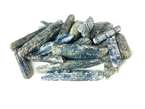 Crocon Cianite Bulk grezzi naturali di pietra preziosa Rough cristalli per la guarigione Tumbling Cabbing lucidatura, Pietra, Kyanite, 0,45 kg