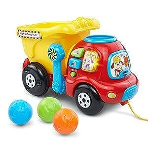 VTech Drop and Go Dump Truck, Yellow