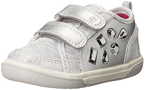 Stride Rite Ursa Hook And Loop Sneaker (Toddler), Silver, 5.5 M US Toddler
