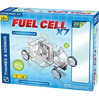 Thames & Kosmos Alternative Energy and Environmental Science Fuel Cell X7: Toys & Games
