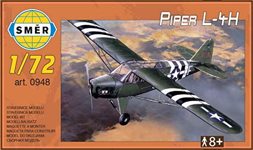 (Piper L-4H Cub in USAAF D-Day, Army (1/72 Model kit, Smer 0948))