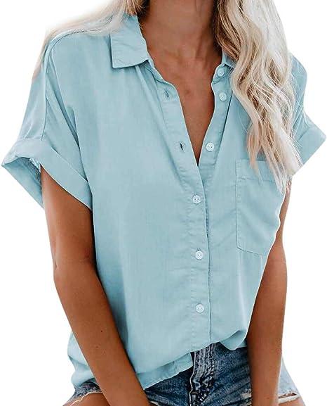 POLPqeD – Camiseta de Mujer Elegante – Camiseta Polo Casual ...
