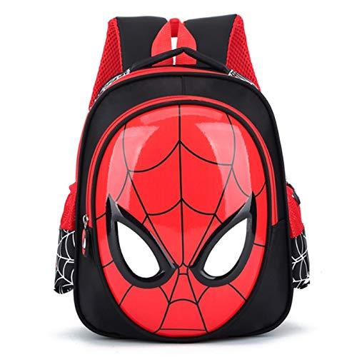 Best Quality - School Bags - 3D 3-6 Year Old School Bags For Boys Waterproof Backpacks Child Spiderman Book bag Kids Shoulder Bag Satchel Knapsack - by John_Kendy - 1 PCs