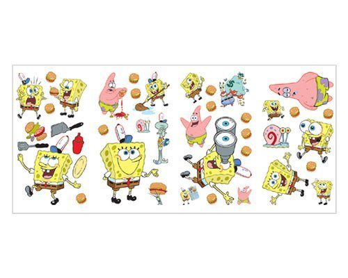 Nickelodeon Sponge Bob Square Pants Wall Stickers