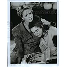 1990 Press Photo Sharon Gless and Kim Rieffel on The Trials of Rosie O'Neill.