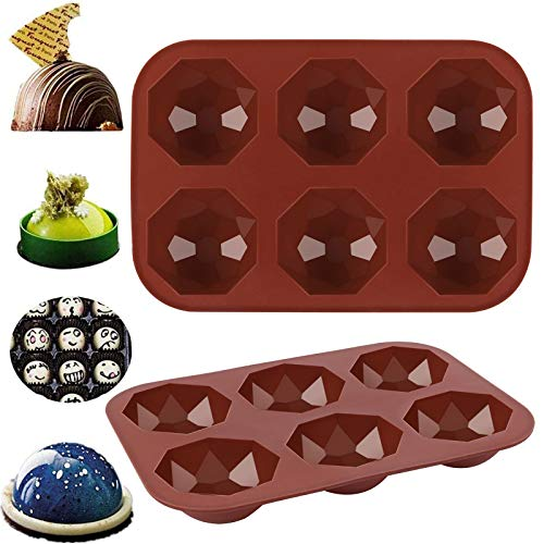 Hot Chocolate Bomb Mold Leyerer Half Ball Silicone Bakeware Mould Muffin Chocolate Cookie Baking Decor Multiple Styles Fashion