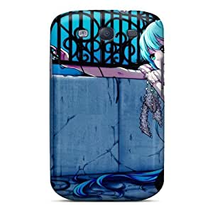 S3 Scratch-proof Protection Case Cover For Galaxy/ Hot Dress Hatsune Miku Thigh Highs Twintails Phone Case